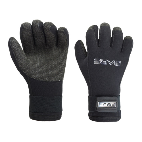 Neoprenové rukavice Kevlar 5 mm Bare, S