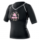 Tričko Rash Guard BLACK VINTAGE LADY Subgear