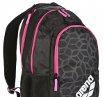 Batoh Spiky 2 backpack, Black-xpivot-fuchsia