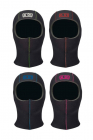 5 mm Neoprene Hood - COLOR SEAMS - K01 Diving