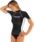Rash Guard Lady Cressi, black/white